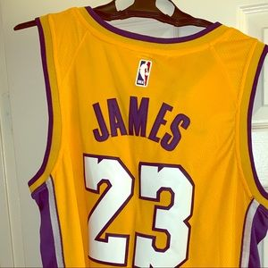Nike authentic lebron James Jersey